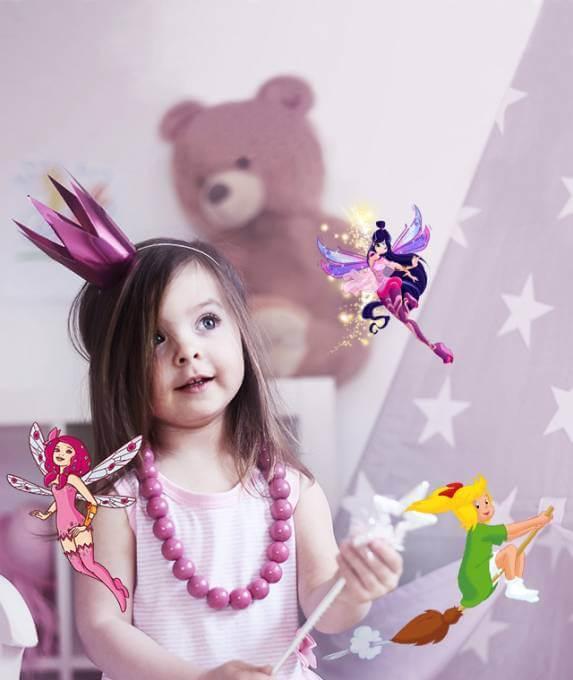 Entdecke unsere personalisierten Prinzessinnen-Geschichten