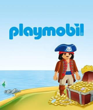 Headerbild fuer das personalisierte Buch von Playmobil