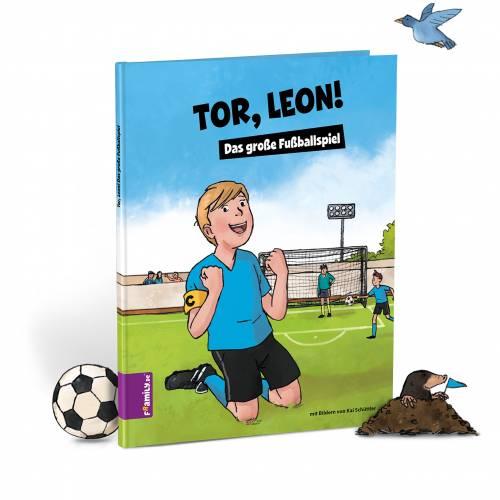 Personalisiertes Kinderbuch: Dein großes Fußballspiel
