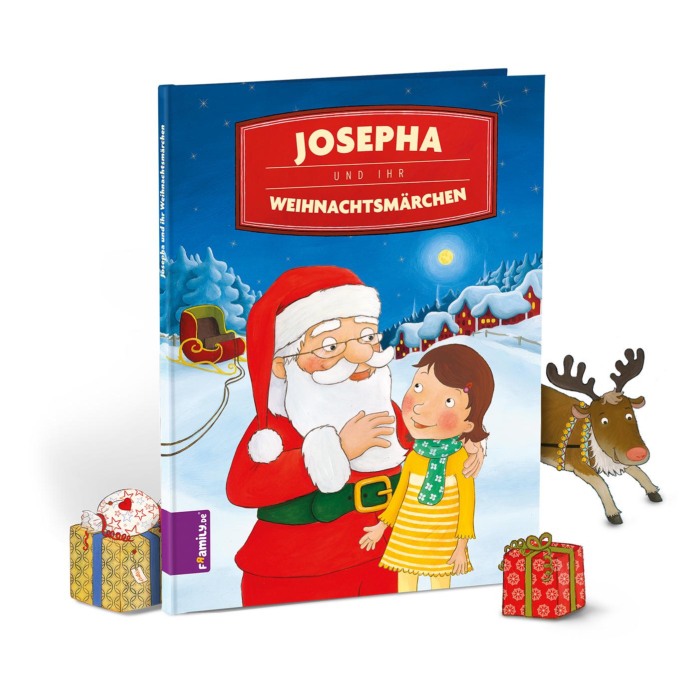 Weihnachtsbuch - personalisierte Kinderbuecher