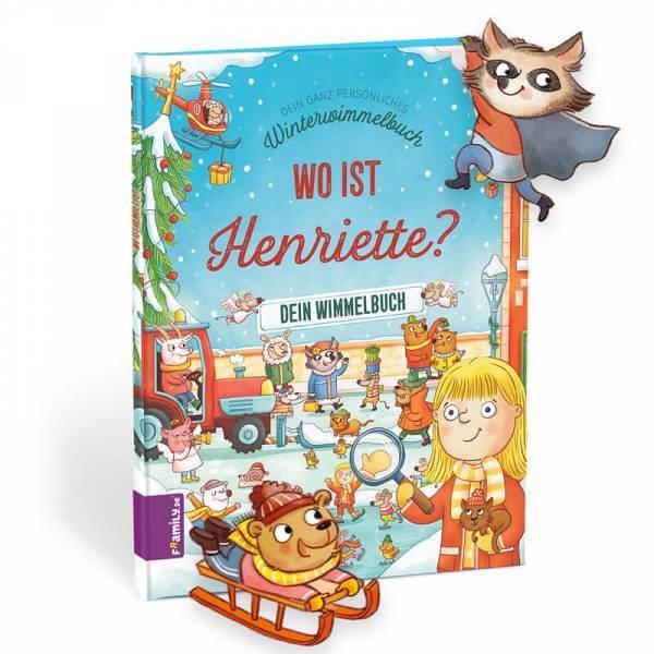personalisiertes Kinderbuch: Dein Winterwimmelbuch