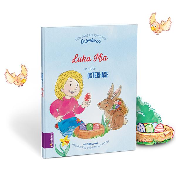 Osterbuch - personalisierte Kinderbuecher