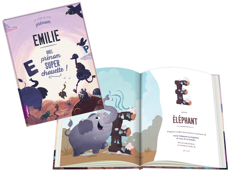 Livre Personnalise Pour Enfant Framily