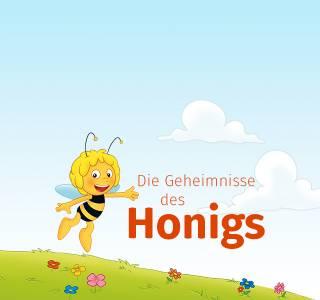 Biene Maja - wie Honig entsteht - personalisierte Kinderbuecher - Headerbild