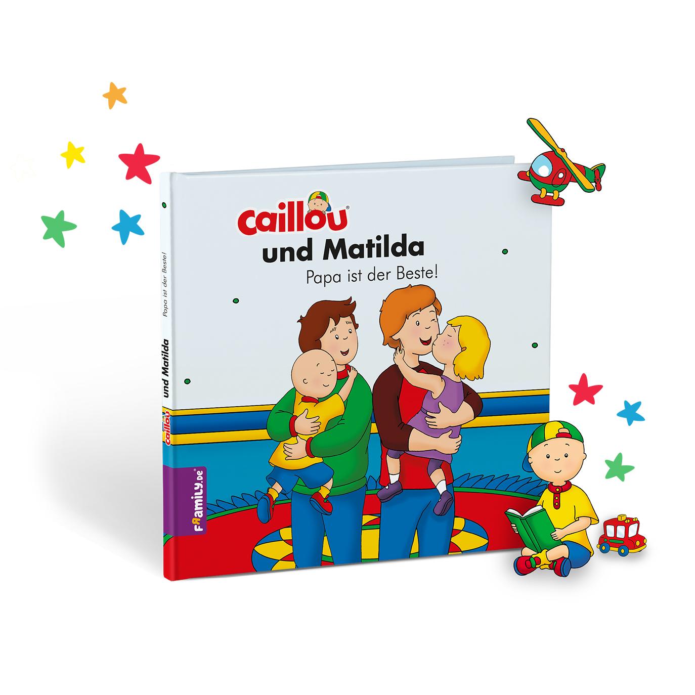 Caillou - personalisierte Kinderbuecher