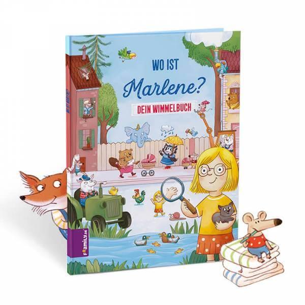 personalisiertes Kinderbuch: Dein Wimmelbuch