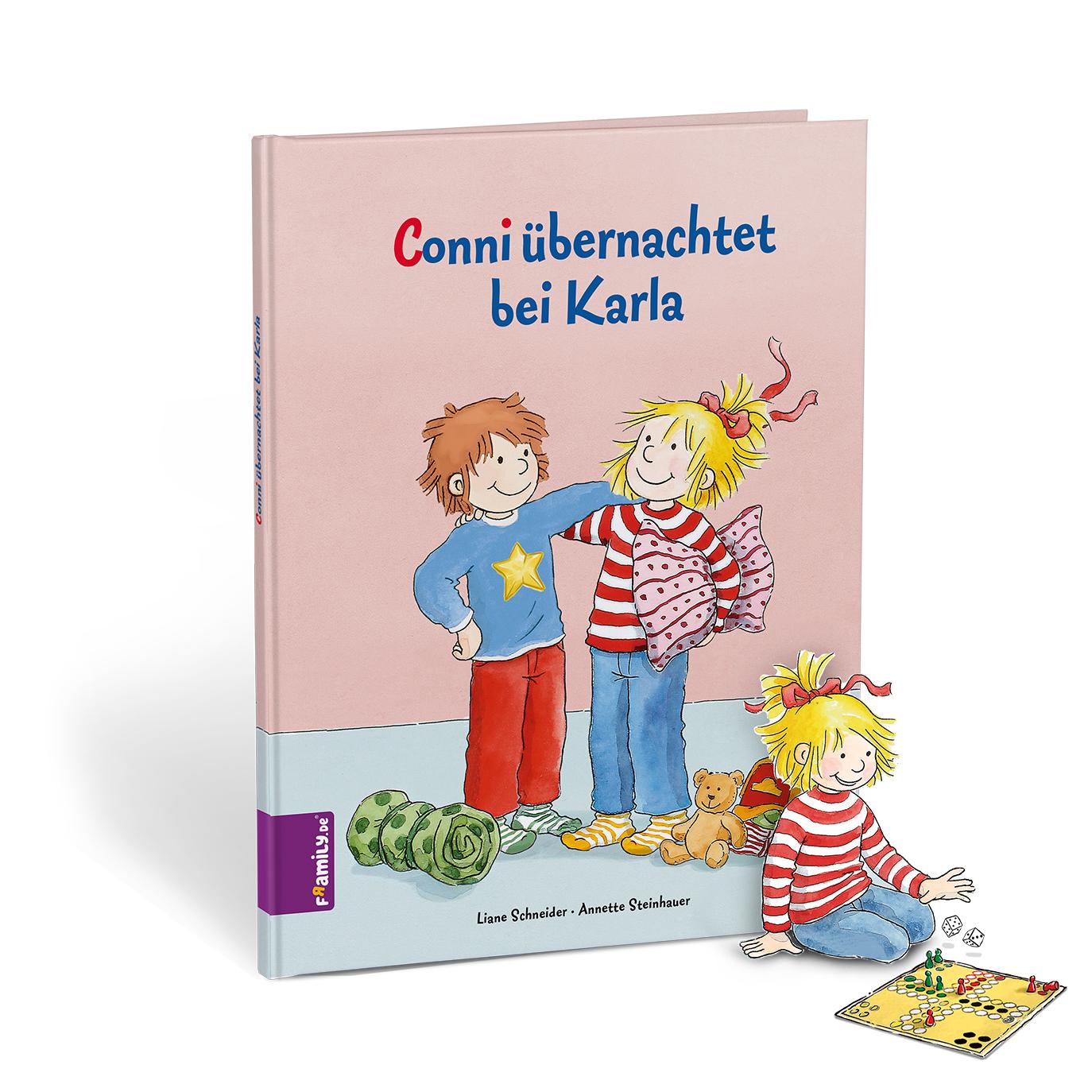 Conni - personalisierte Kinderbuecher