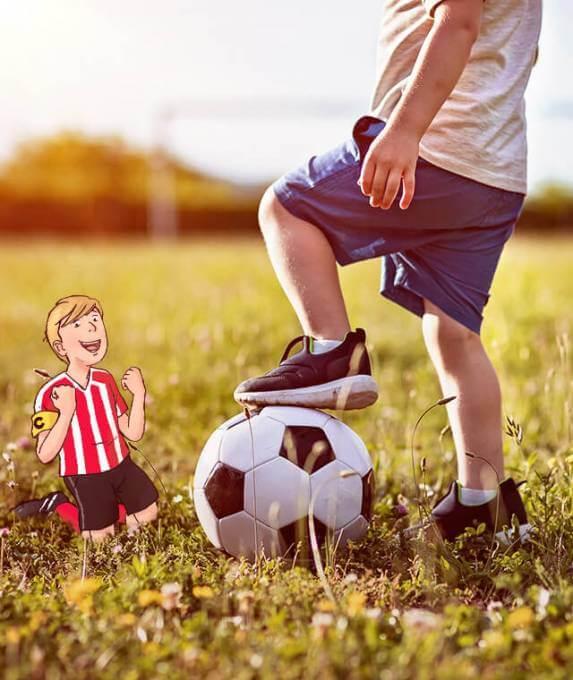 Personalisierte Fussballgeschichten Fur Kinder Framily