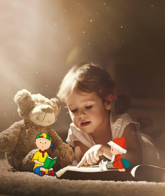 Entdecke unsere personalisierten Geschichten für die ganz Kleinen
