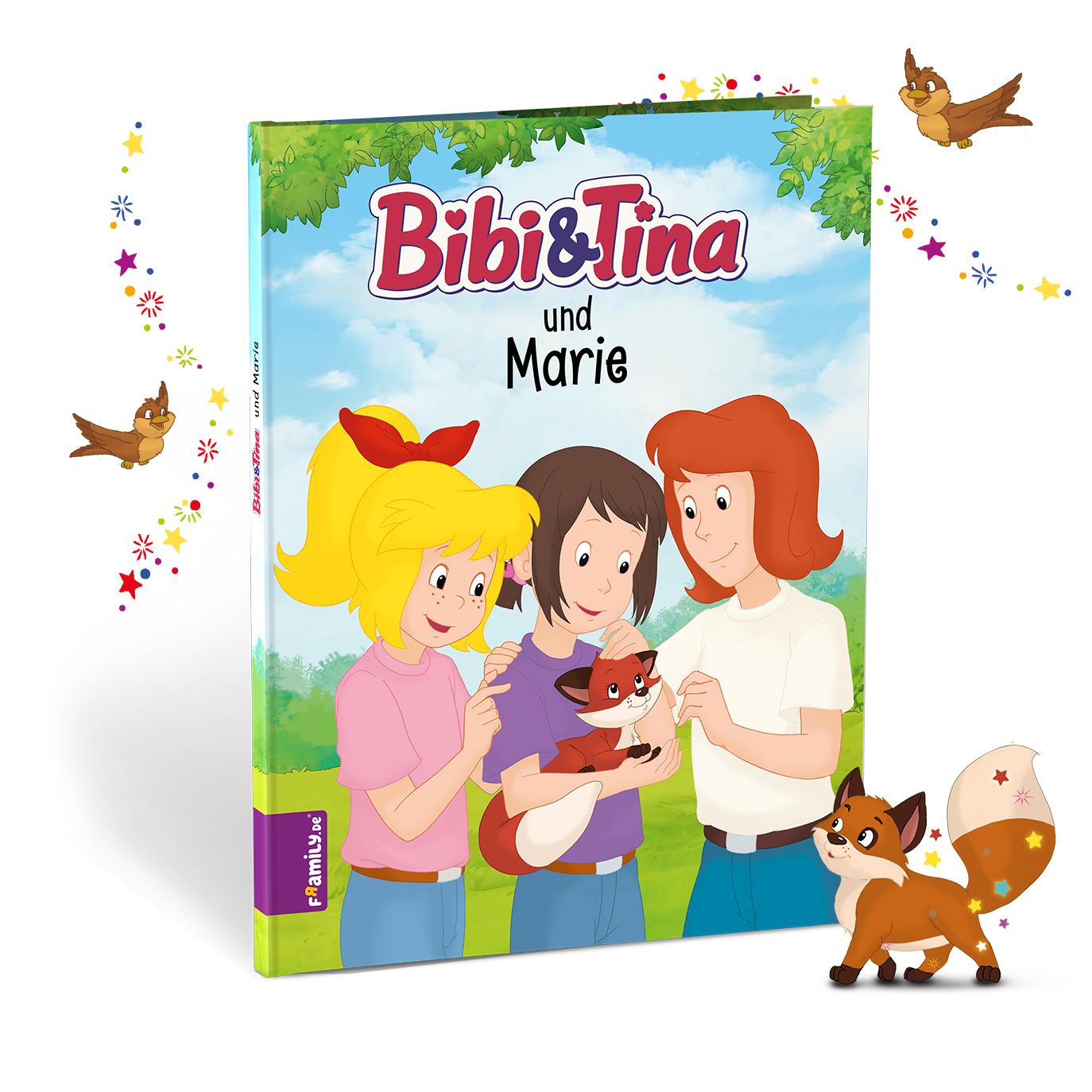 Bibi und Tina die kleinen Fuechse - personalisierte Kinderbuecher