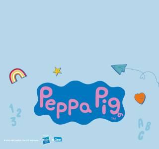 Peppa Pig personalisierter Schulstartkalender