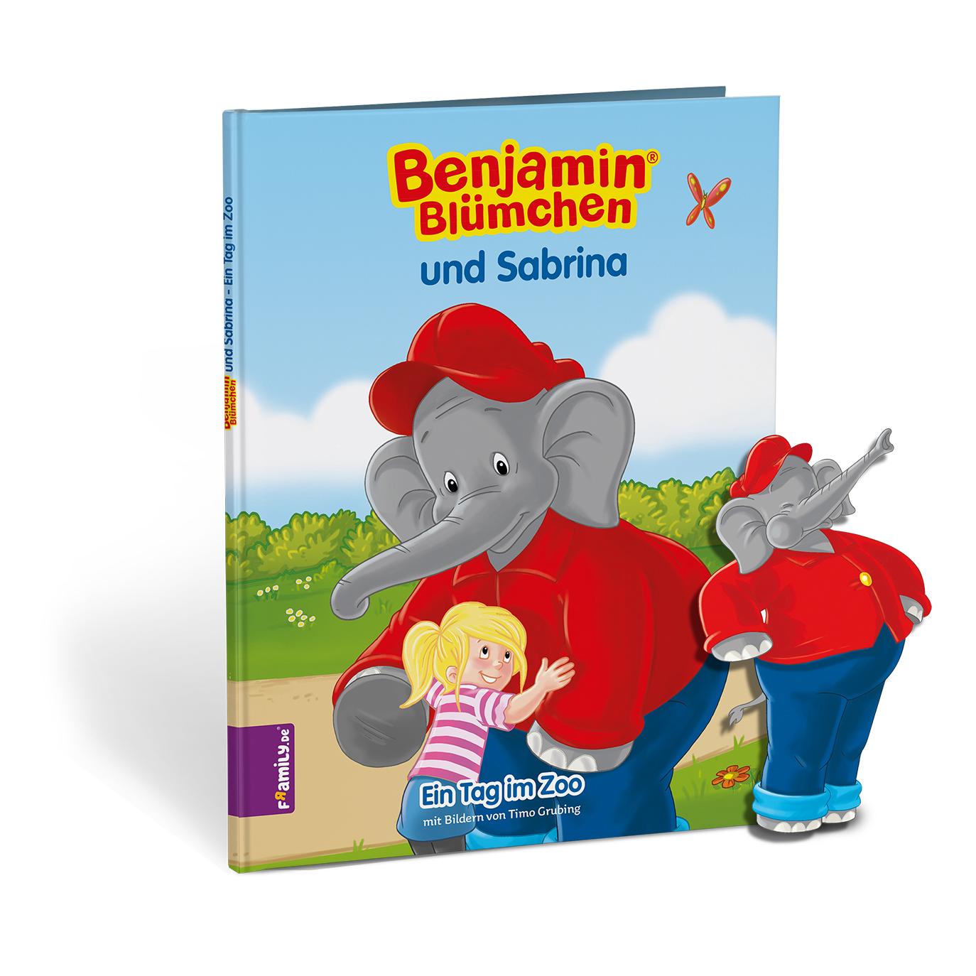 Benjamin Bluemchen - personalisierte Kinderbuecher