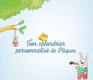 Dein personalisierte Oster-Countdown-Kalender mit Wimmelrätseln