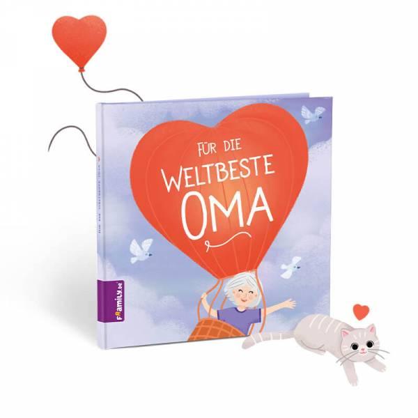personalisiertes Kinderbuch: Für die weltbeste Oma