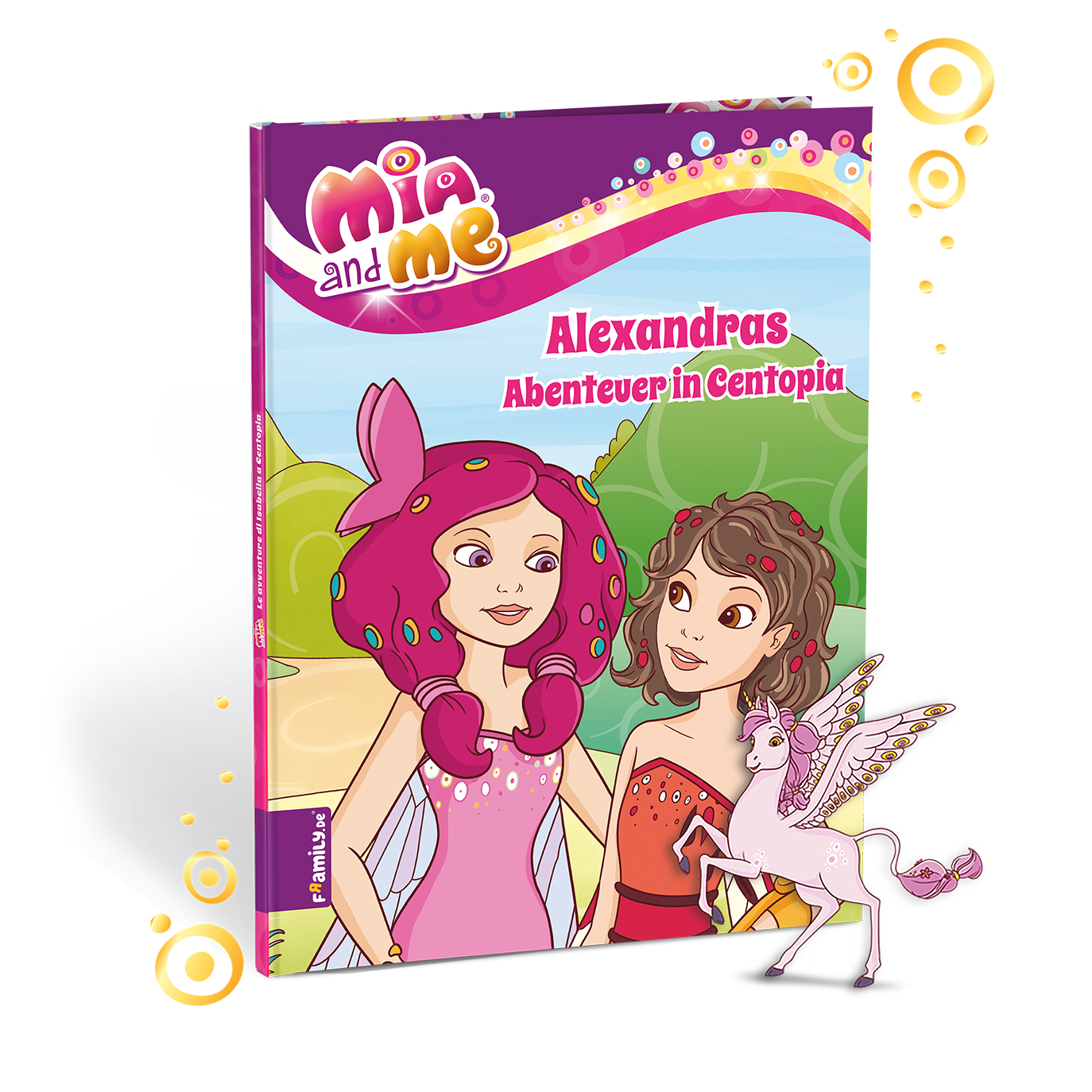 Mia and me - personalisierte Kinderbuecher