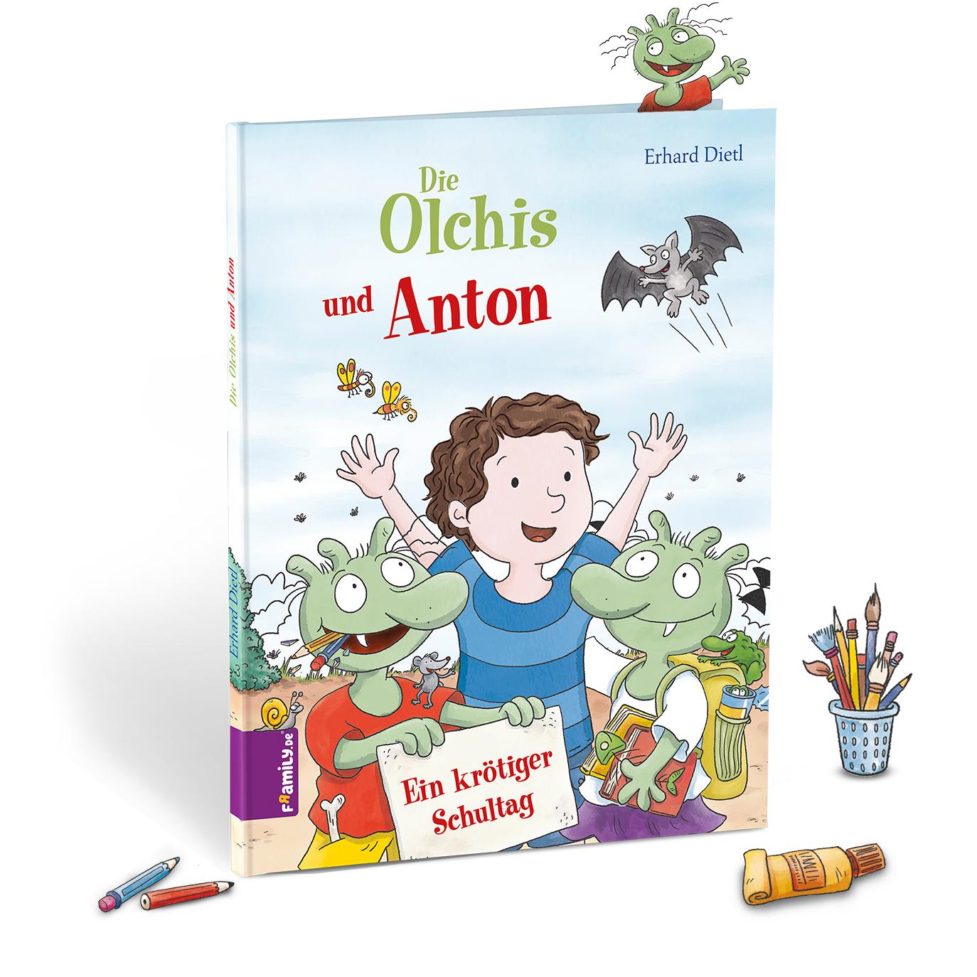 Olchis Schule - personalisierte Kinderbuecher