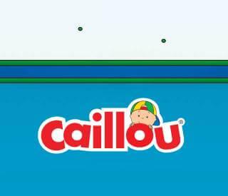 Gestalte dein personalisiertes Buch mit Caillou