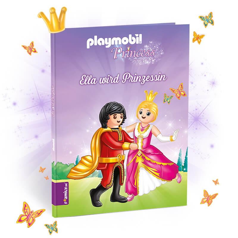 personalisiertes playmobilbuch prinzessin  framily