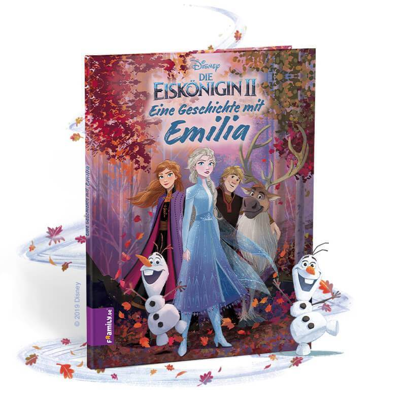 Framily - personalisiertes Kinderbuch - Eiskönigin2