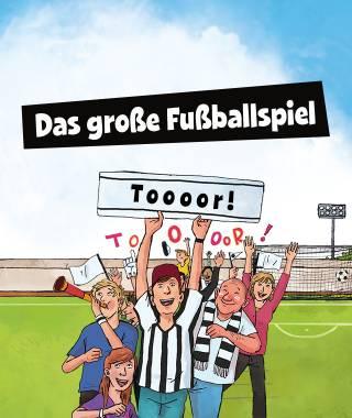Dein ganz persönliches Großes Fußballspiel-Buch