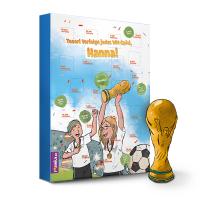 Dein ganz persönlicher WM-Kalender mit Fruchtgummi