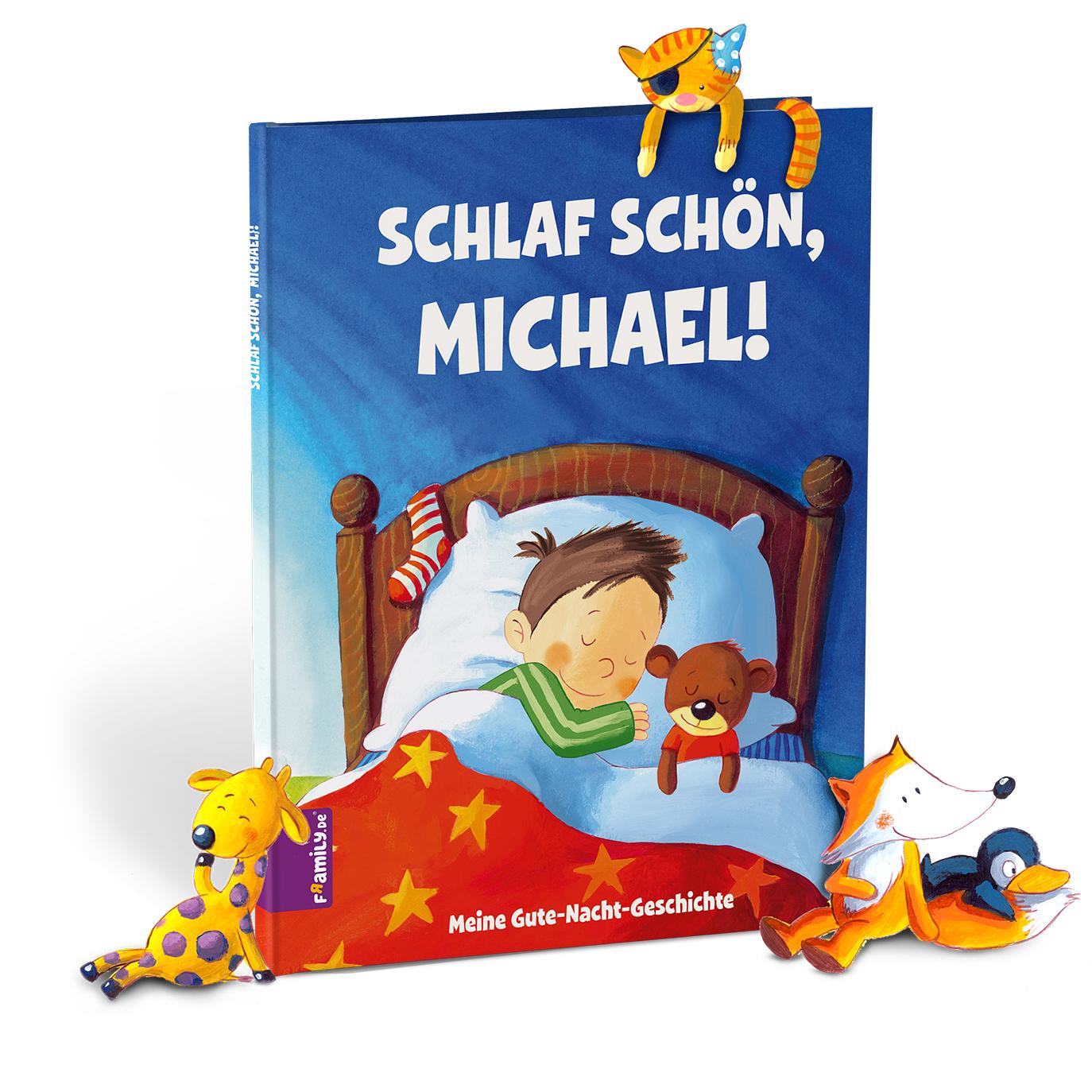 Gute Nacht Geschichte - personalisierte Kinderbuecher