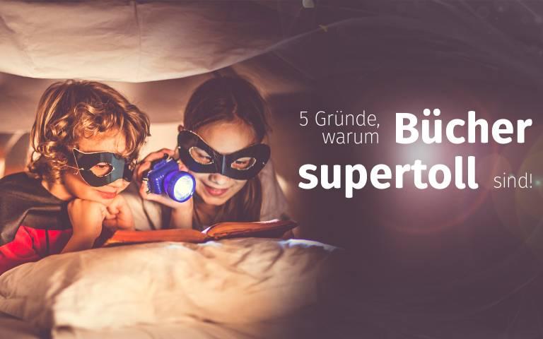 warum Lesen super toll ist - personalisierte Kinderbuecher - Headerbild