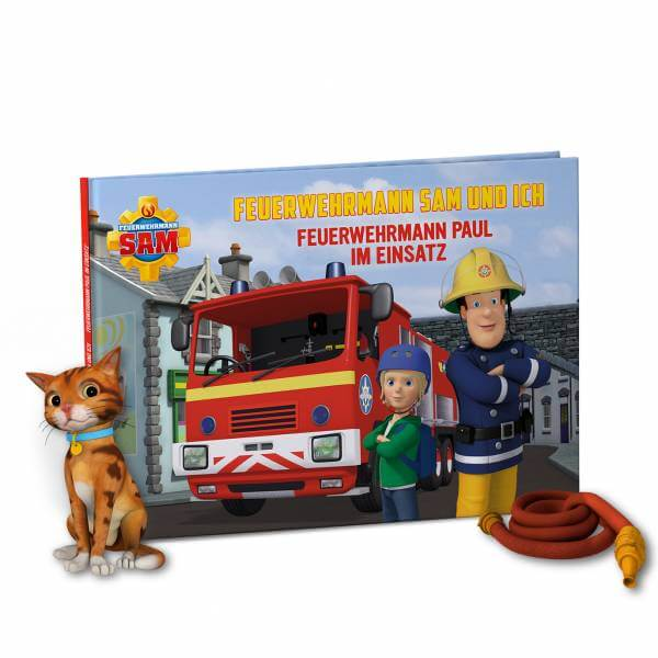 personalisiertes Kinderbuch - Feuerwehrmann Sam