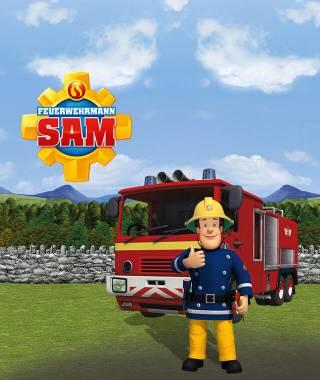 Feuerwehrmann Sam - personalisierte Kinderbuecher