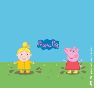 Headerbild fuer das personalisierte Buch von Peppa Pig