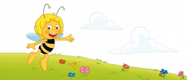 Biene Maja - wie Honig entsteht - personalisierte Kinderbuecher