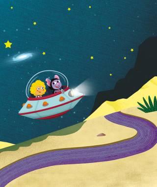 Deine personalisierte Weltraum-Gutenachtgeschichte