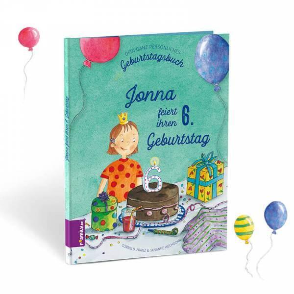 Personalisiertes Kinderbuch: Mein Geburtstagsbuch.