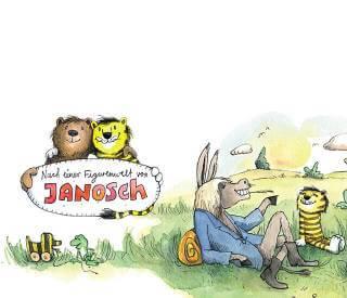 Gestalte dein personalisiertes Buch mit Janosch Tiger und Baer
