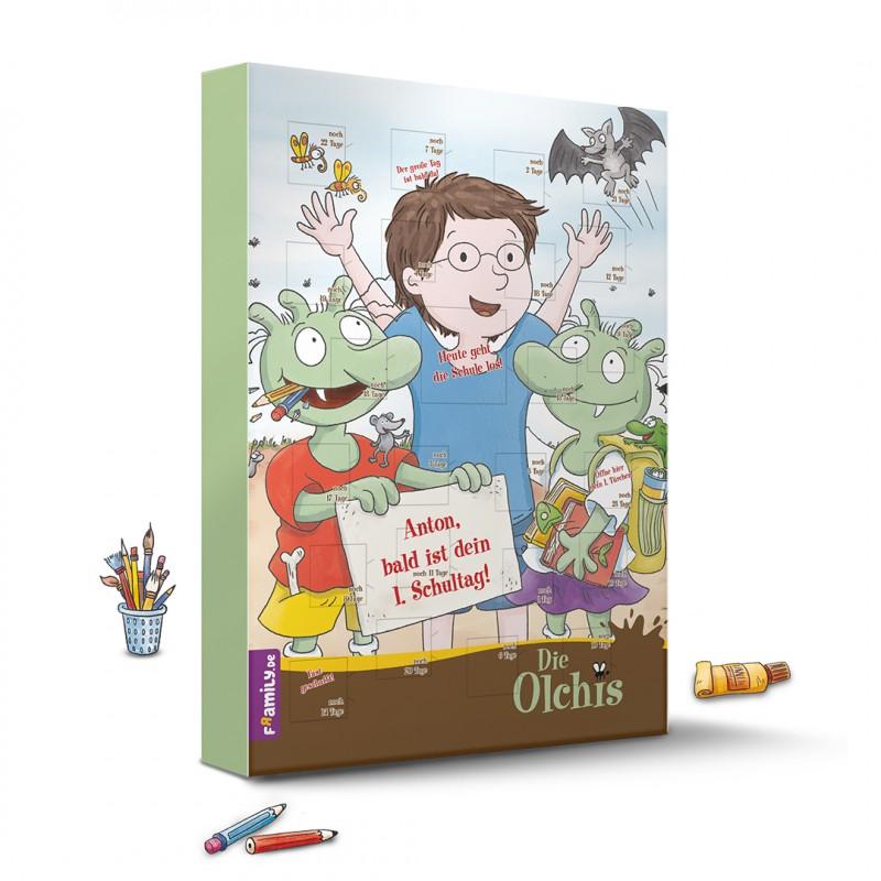 Die Olchis Schulstart-Countdown-Kalender