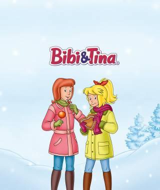 Headerbild fuer den personalisierten Adventskalender von Bibi und Tina