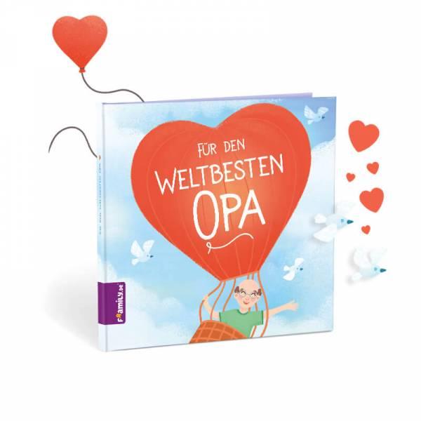 personalisiertes Kinderbuch: Für den weltbesten Opa