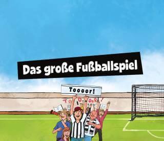 Spiele dein grosses Fussballspiel in deinem personalisierten Kinderbuch